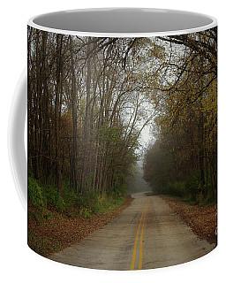 Autumn Road Coffee Mug by Inspired Arts