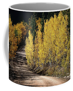 Autumn Road Coffee Mug by Jim Hill