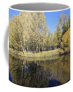 Coffee Mug featuring the photograph Autumn-rush Creek by Sean Sarsfield
