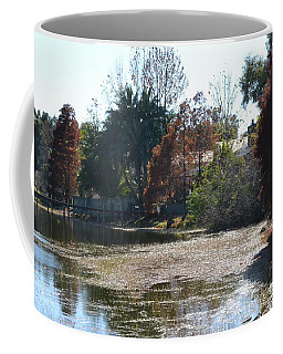 Coffee Mug featuring the photograph Autumn Serenity by Carol  Bradley