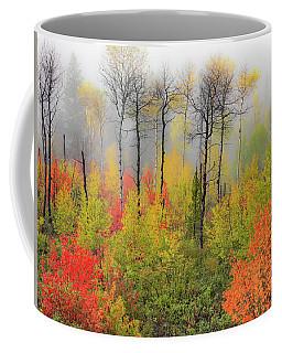 Coffee Mug featuring the photograph Autumn Shades by Leland D Howard