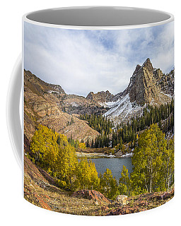 Autumn Snow At Lake Blanche Coffee Mug