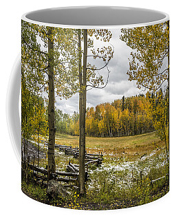Autumn Snow Fall Coffee Mug