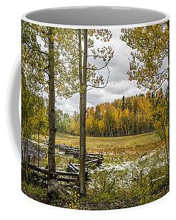 Autumn Snow Fall Coffee Mug