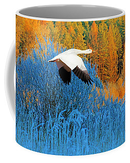 Autumn Snow Goose Coffee Mug