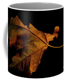 Autumn Solitary Leaf Coffee Mug