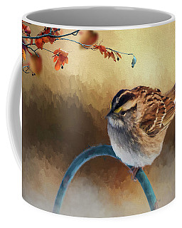 Autumn Sparrow Coffee Mug
