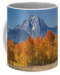 Autumn Splendor In Grand Teton Coffee Mug