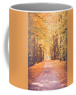 Autumn Sroll Coffee Mug by Sara Frank