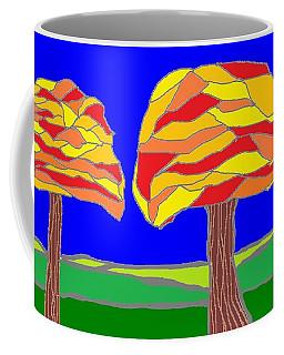Autumn Stained Glass 1 Coffee Mug