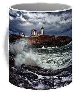 Autumn Storm At Cape Neddick Coffee Mug