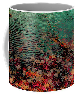 Coffee Mug featuring the photograph Autumn Submerged by David Patterson
