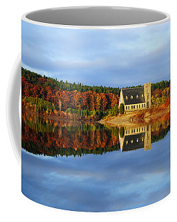 Autumn Sunrise At Wachusett Reservoir Coffee Mug