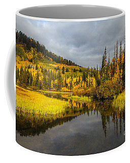 Coffee Mug featuring the photograph Autumn Sunrise by Spencer Baugh