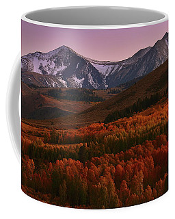 Autumn Sunset At Conway Summit In The Eastern Sierras Coffee Mug