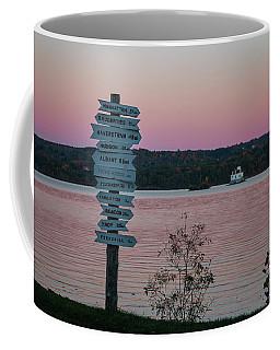 Autumn Sunset At Esopus Meadows Coffee Mug