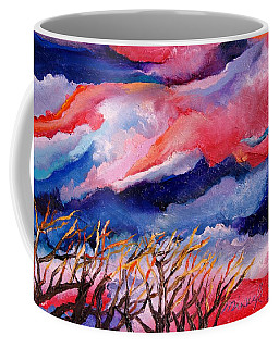 Autumn Sunset In The Sky Coffee Mug