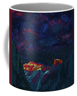 Autumn Sunset Over Half Dome 2013 B Coffee Mug