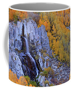 Autumn Surrounds Mist Falls In The Eastern Sierras Coffee Mug