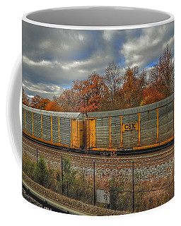 Autumn Tracks Coffee Mug