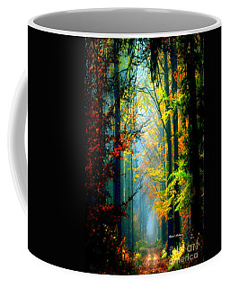 Autumn Trails In Georgia Coffee Mug