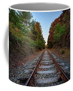 Autumn Train Coffee Mug