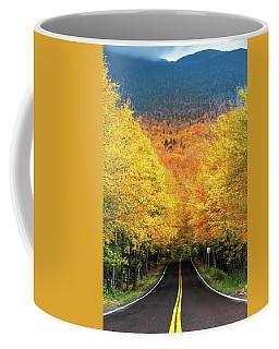 Autumn Tree Tunnel Coffee Mug