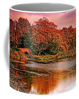 Autumn Trees On The Lake Coffee Mug