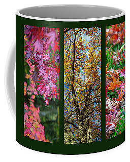 Autumn Triptych Coffee Mug