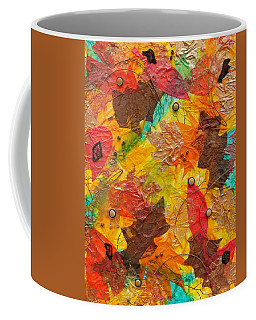 Autumn Leaves Underfoot Coffee Mug