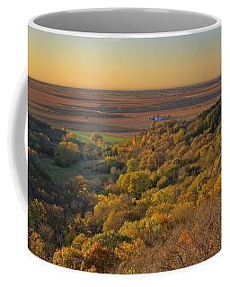 Autumn View At Waubonsie State Park Coffee Mug