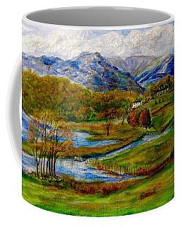 Autumn View Of The Trossachs Coffee Mug
