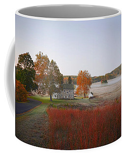 Coffee Mug featuring the photograph Autumn Walk In Valley Forge by Bill Cannon