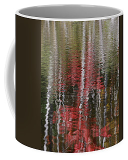 Coffee Mug featuring the photograph Autumn Water Color by Susan Capuano