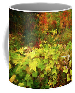 Autumn Watercolor Coffee Mug