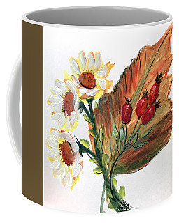 Autumn Wild Flowers Bouquet Coffee Mug