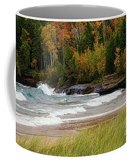 Autumn Winds And Color Coffee Mug by Rachel Cohen