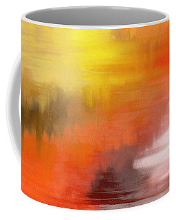 Autumnal Abstract  Coffee Mug