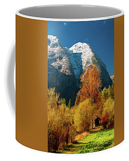 Coffee Mug featuring the photograph Autumnal Gift by Geoff Smith