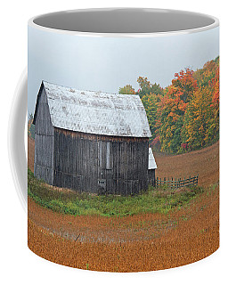 Coffee Mug featuring the photograph Autumnal.. by Nina Stavlund