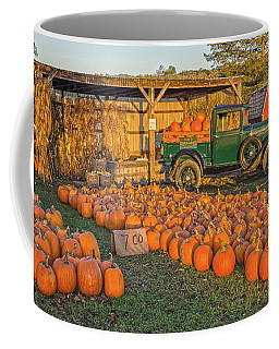 Autumnal Sunrise At Roe's Coffee Mug