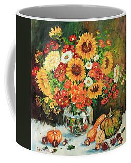 Autumn's Bounty Coffee Mug by Alexandra Maria Ethlyn Cheshire
