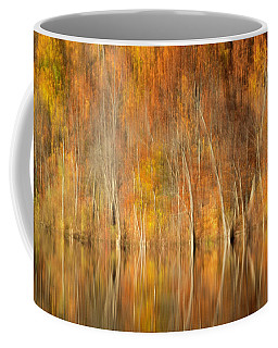 Coffee Mug featuring the photograph Autumns Final Palette by Everet Regal