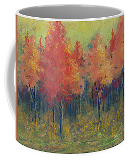 Autumn's Glow Coffee Mug by Lee Beuther