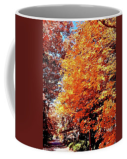 Autumn's Tunnel Coffee Mug