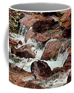 Avalanche Creek - Glacier National Park #2 Coffee Mug by Kae Cheatham