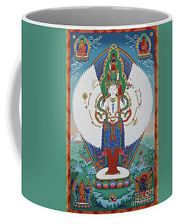 Avalokiteshvara Lord Of Compassion Coffee Mug