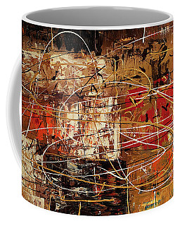 Coffee Mug featuring the painting Avant Garde by Carmen Guedez
