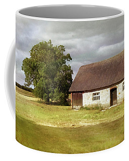Avebury Cottage Tree And Standing Stone Coffee Mug