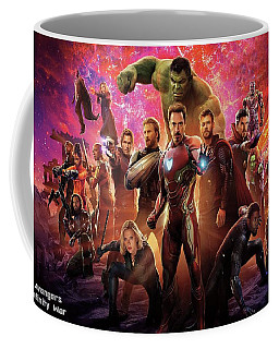 Avengers Infinity War Coffee Mug